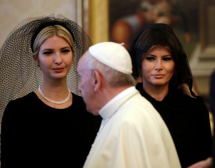 La vestimenta de Melania en el Vaticano se vuelve noticia tras su polémica en Arabia Saudita (VIDEO) - RT