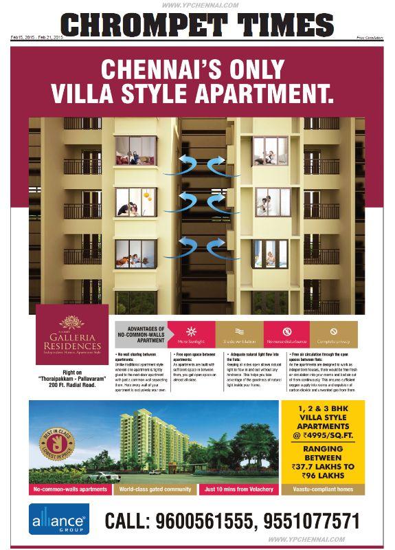 Properties-Thoraipakkam-Pallavaram