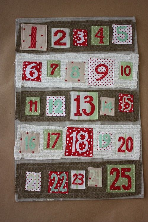 one of my favorite advent calendars ever, via pretty swank on etsy!