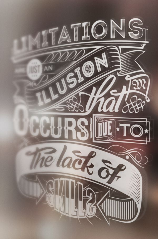 Inspirational Quote Mural by Mihai Molnar