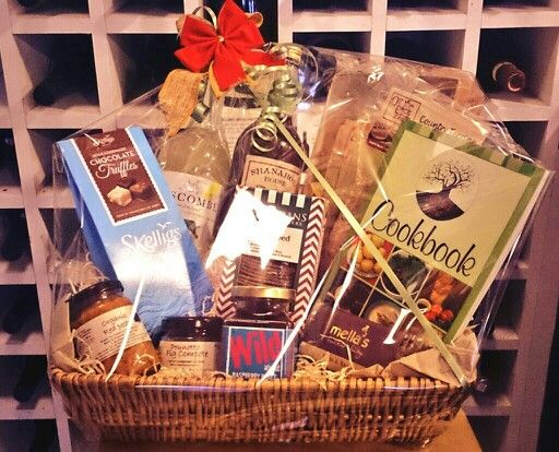 Hamper made at The Stuffed Olive