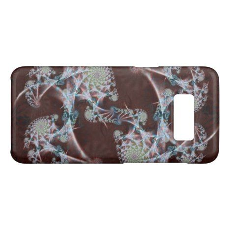 Leather and Lace Fractal Case-Mate Samsung Galaxy S8 Case #fractal #pattern #samsung #galaxy #protective #cases