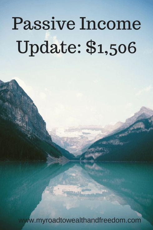 Another great month for passive income.  See how you can build passive income too!