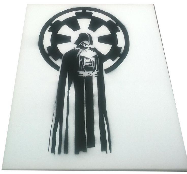 Darth Vader stencilart