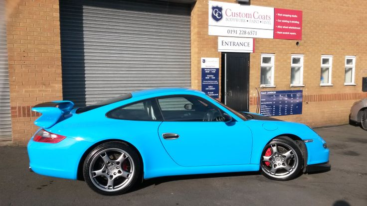 Porsche 911 (997) GT3 in Porsehe Riviera Blue by Custom Coats
