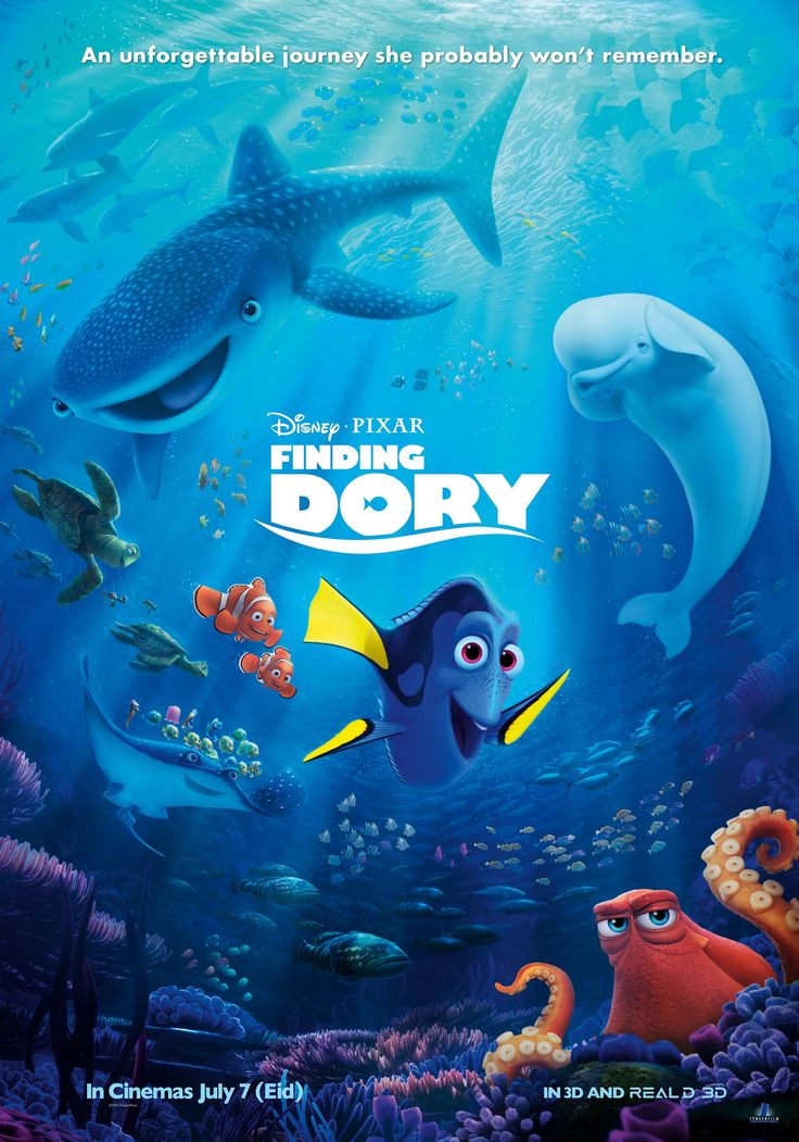 Roommate Movie Night: Finding Dory Edition