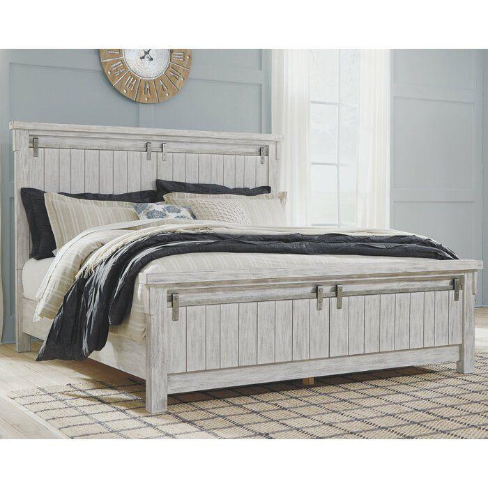 Rovner Standard Bed Serene Bedroom White King Panel Bed Bedroom Sets