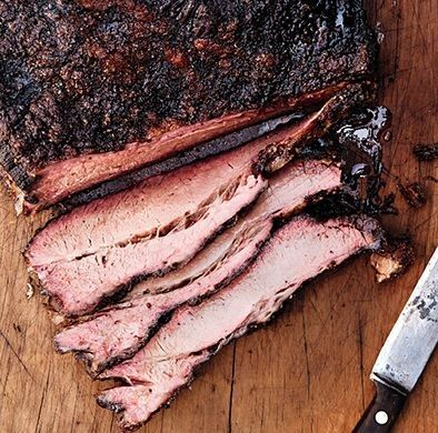 Texas-style smoked brisket #barbecue #BBQ