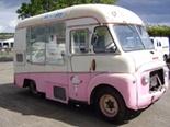 Fully restored 1962 Mr. Whippy Commer Karrier BF classic ice cream van.