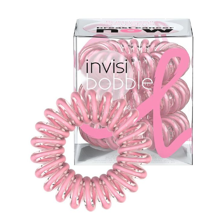 Invisibobble Limited Edition Breast Cancer Edition