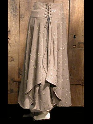 medieval, renaissance clothing - woman skirt - Julianne - Anne Larochelle