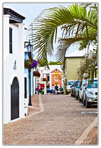Town of St. George, Bermuda. This is where we stay every year in May-