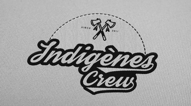 indigenes crew logo native american - Hip Hop crew logo