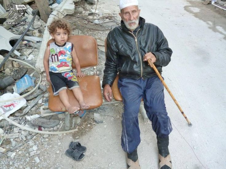 Both need help. #Syria