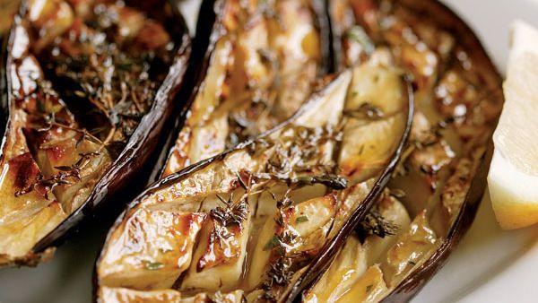 Oven-Roasted Eggplant Recipe - FineCooking