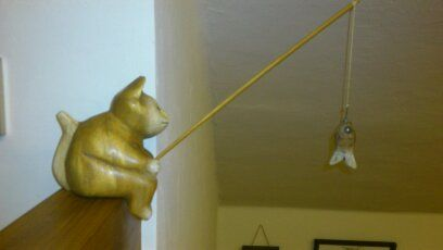Cat Fishing this also in this office ...
