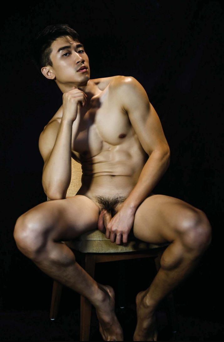 Naked thai male model