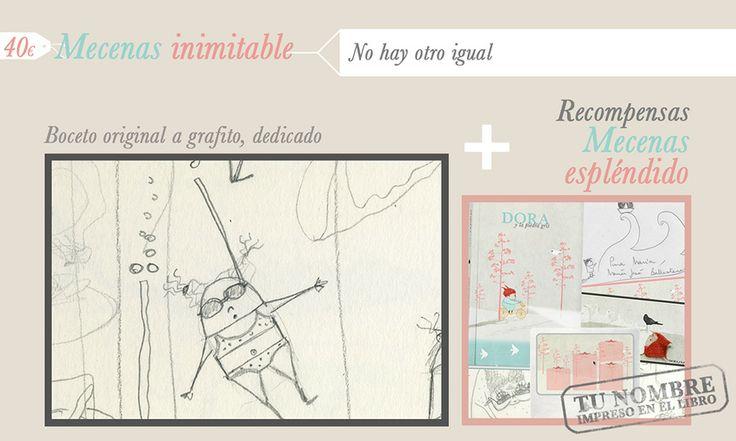 Recompensas para los mecenas inimitables de Dora. http://vkm.is/Dora
