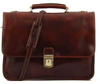 Sophisticated Tuscany Leather Laptop Bag & Briefcase - Torino #oldschool
