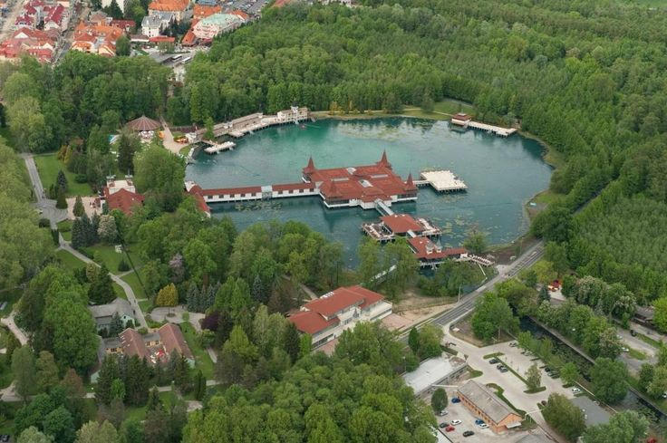 **Thermal Lake of Heviz (natural thermal lake) - Heviz, Hungary