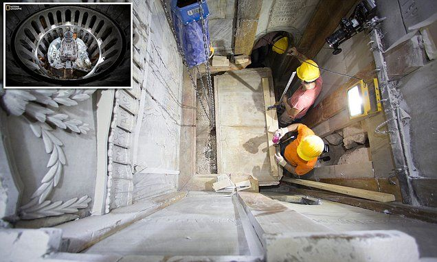 Burial slab of Jesus is uncovered for the first time in centuries #DailyMail | These are some of the stories. See the rest @ http://www.twodaysnewstand.com/mail-onlinecom.html or Video's @ http://www.dailymail.co.uk/video/index.html And @ https://plus.google.com/collection/wz4UXB