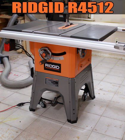 The 25 best ridgid table saw ideas on pinterest used table saw my new table saw ridgid r4512 jays custom creations greentooth Choice Image