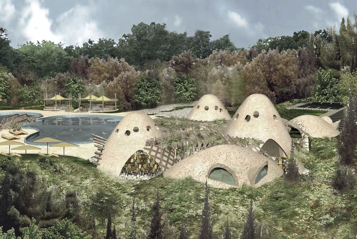 ARK - KASSAM   Architectural & Engineering Consultations   Projects   Cafe in Dimas villages