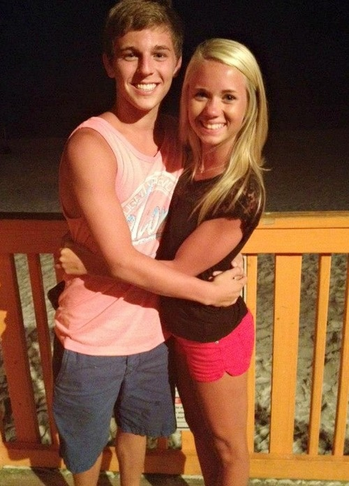 Carly Manning with Cheer Athletics Panthers, cheerleading, cheerleader, competitive....cutest couple EVER!! ...heheh