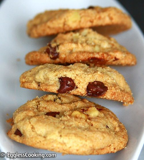 Chocolate Chip Cookies Without Wheat Flour