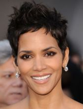 Halle Berry Sassy Short Wavy Pixie Cut Synthetic Wig