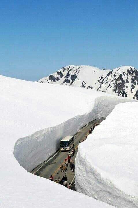 طريق ثلجي