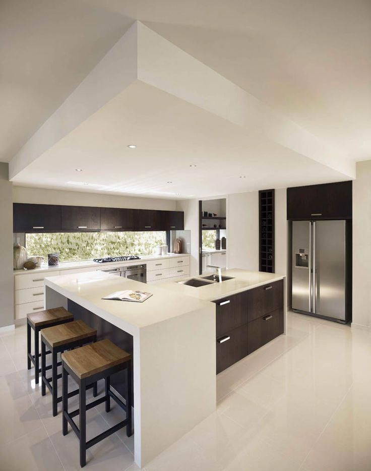 kitchen design trends 2020 2021 â colors materials plans interiorzin kitchen design on interior design kitchen small modern id=61579