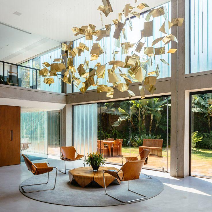 triptyque creates brazilian design collection for international firm - designboom | architecture