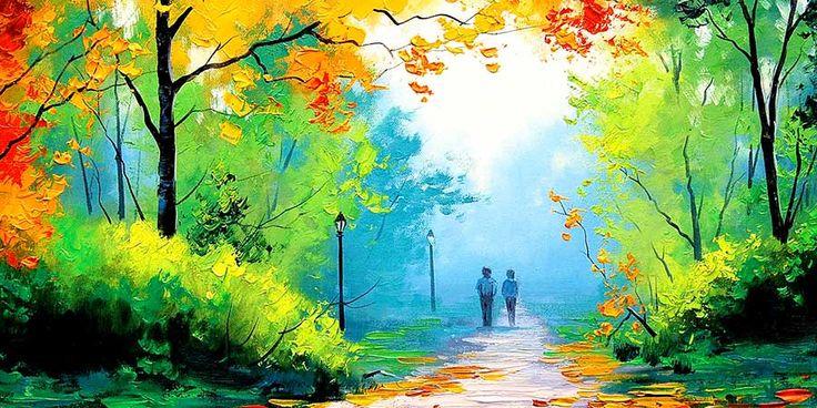 paisajes de amor eterno imagenes hermosas fotos enamorados fondos wallpaper pintura cuadro