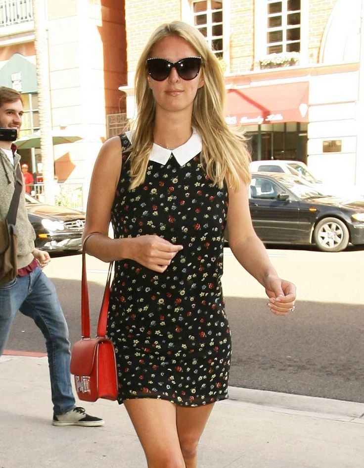 Nicky Hilton - At the Anastasia Salon in Beverly Hills 1/22/2015
