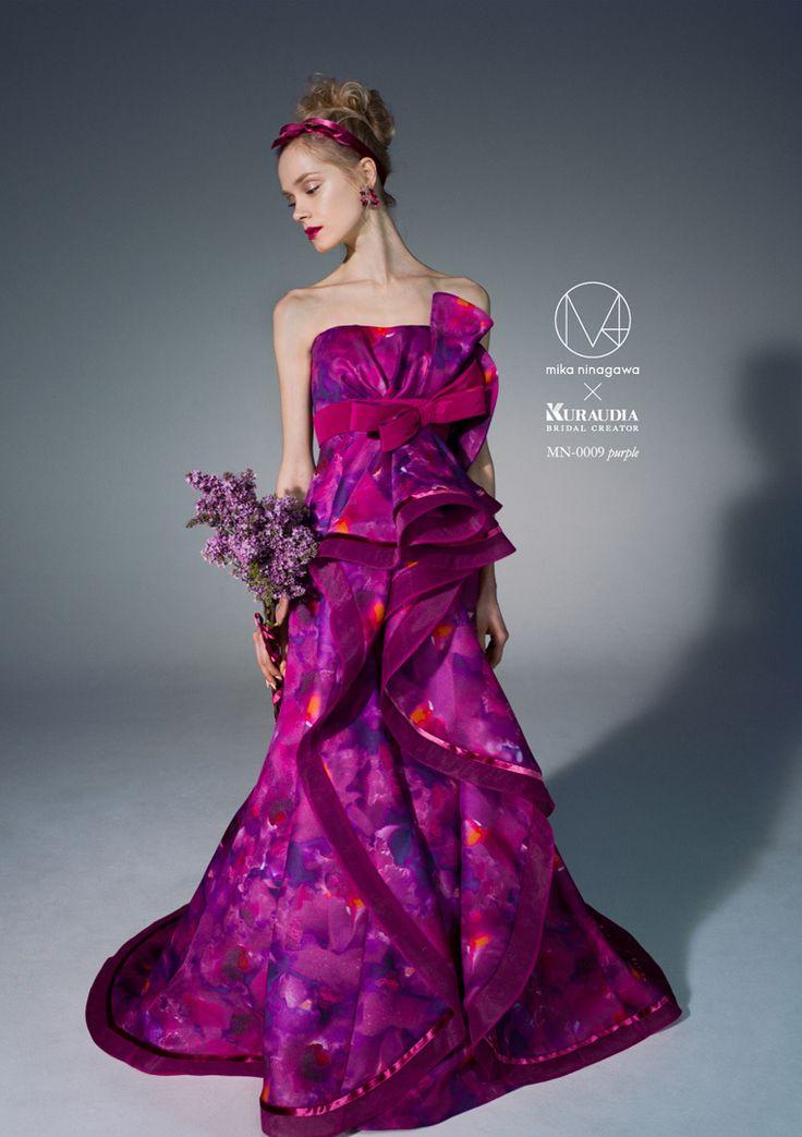 蜷川実花のウエディングドレス!ピンクのマーメイド ウェディングドレス・カラードレス・花嫁衣装のまとめ一覧♡