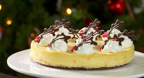 Mary Berry - White Chocolate and Ginger cheesecake