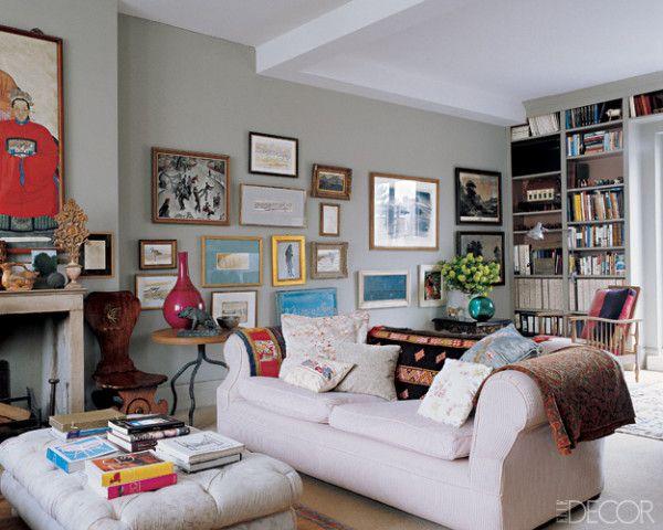 82 best Salon Style Walls images on Pinterest Elle decor