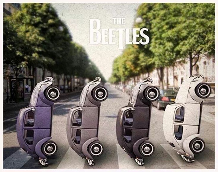 The Beetles @ Abbey Road. VW beetles Volkswagen bugs | cars & trucks | Pinterest | Volkswagen ...
