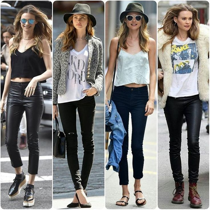 BLACK SKINNIES OOTD IDEAS FROM#BehatiPrinsloo#AdamLevine #fashion #blogger #yolo #louboutin #party #croptop #cool #sound #swag #essentials #louisvuitton #travel #bracelet #blog #luxury #instablog #holiday #fashionblogger #leather #hipster #boots #leatherleggins #beauty #makeup #igers #inspo... - Celebrity Fashion