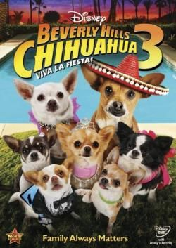 Beverly Hills Chihuahua 3: Viva La Fiesta! (2012). Starring: George Lopez, Lacey Chabert, J.P. Manoux, Emily Osment, Kay Panabaker and Madison Pettis