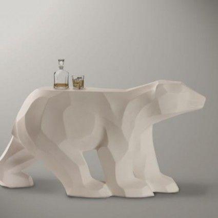 Walking Bear Table by Moss & Lam.