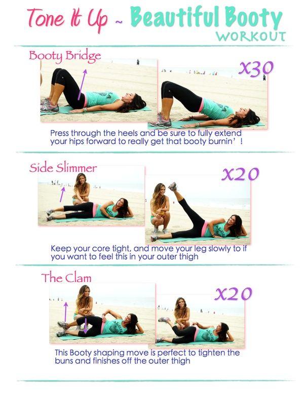 Tone it Up - Beautiful Booty Workout