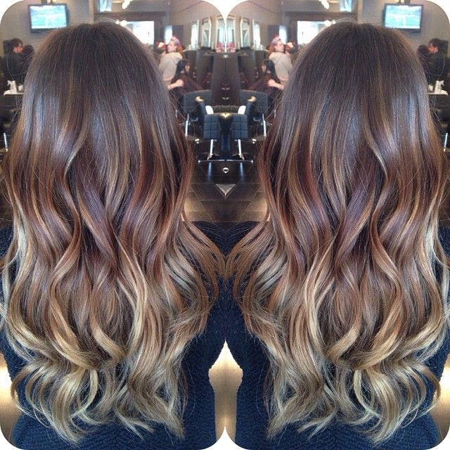 Obsessed with the balayage technique!
