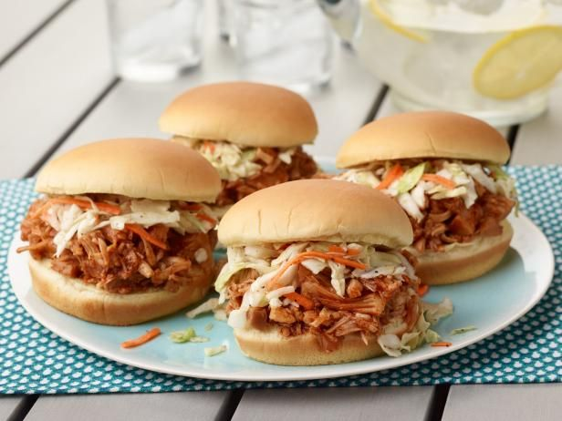 Get BBQ Pulled Jackfruit Sandwiches Recipe from Food Network