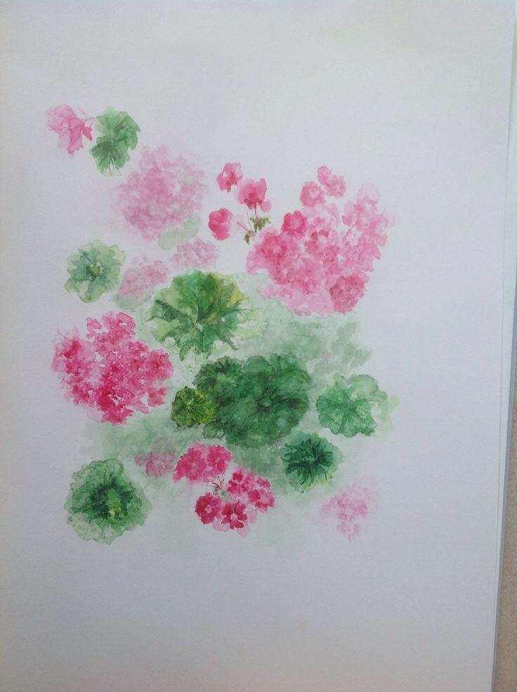Watercolour by Anne