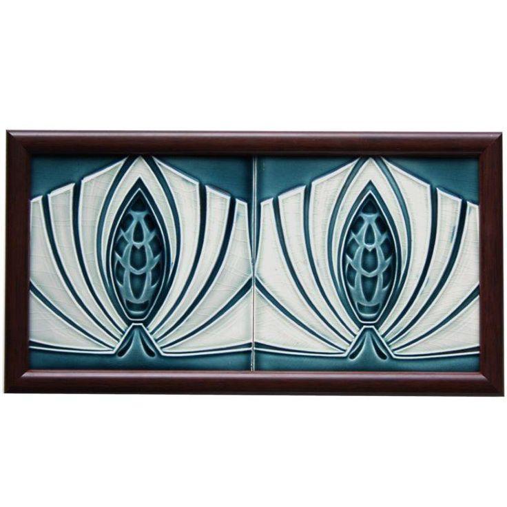 c.1905 M.O.P.F. Art Deco tiles