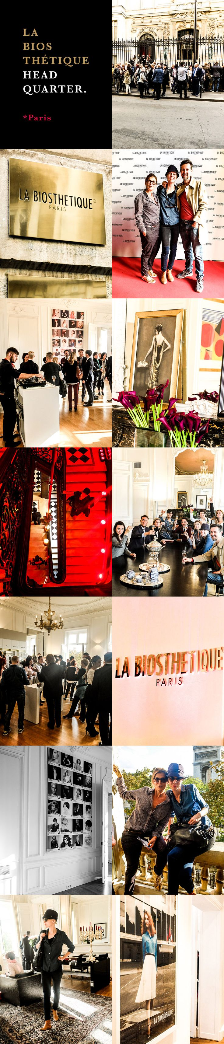 """La Biosthetique Headquarter Paris. Silke von Rolbiezki Coiffure on tour in ♡ Paris for the """"Beauty Stylist Award 2014"""" hosted by La Biosthétique Paris. Proudly presented by Silke von Rolbiezki Coiffure, Palma de Mallorca, Spain www.silkevonrolbiezki.com"""