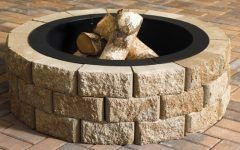 Fire Pit Kits Stone Anchor Block Products | Hudson Stone™ Fire Pit | Kit