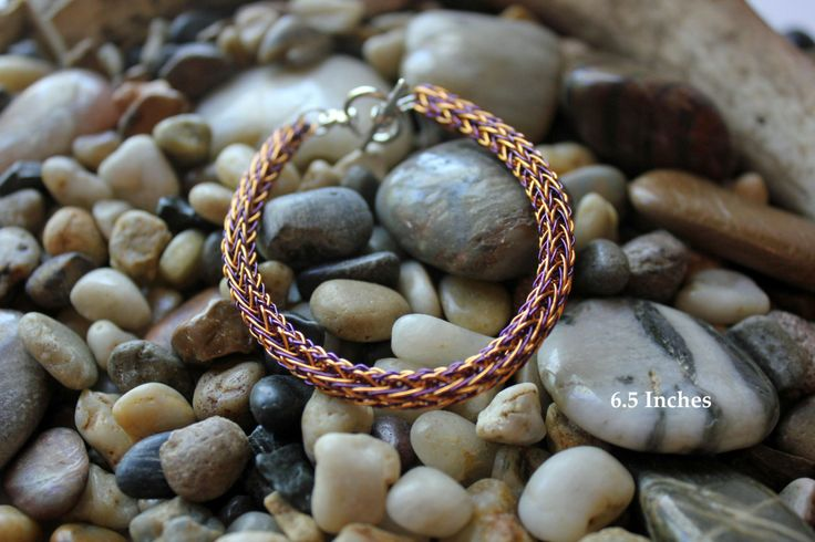 Unique Handmade bracelets and necklaces using Trichinopoly or Viking Wire Weaving. by StormCatDesigns on Etsy